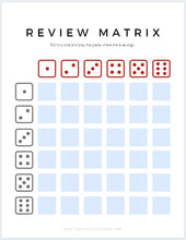 Load image into Gallery viewer, Review Matrix for Suzuki Violin Books 1&2 (Digital Download)