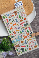 Forest Animals Stickers