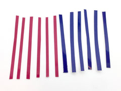 Fingerboard Tape Sample - Pink and Purple