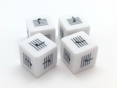 Lines and Spaces Dice