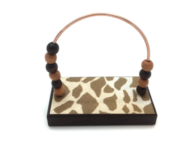 Giraffe Print Bead Counter