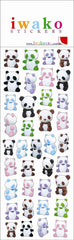 Panda Gel Stickers