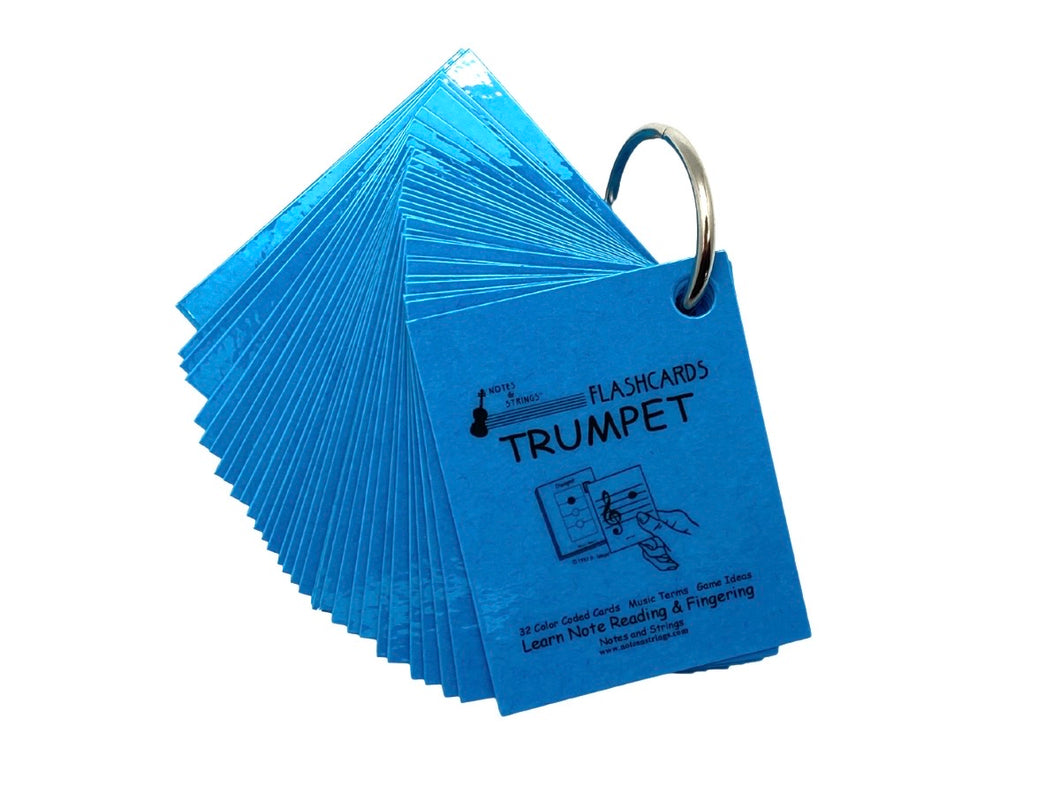 Trumpet Mini Laminated Flashcards