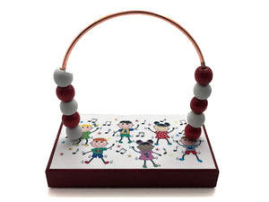 Kids Bead Counter - Red