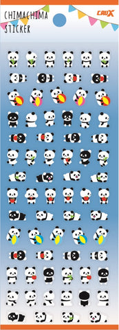 Panda Chimachima Stickers