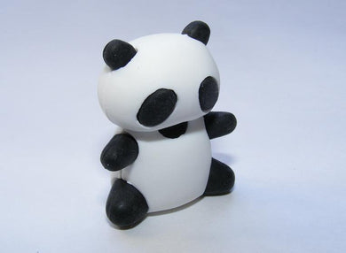 Panda Eraser No Nose