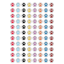 Load image into Gallery viewer, Paw Prints Mini Stickers