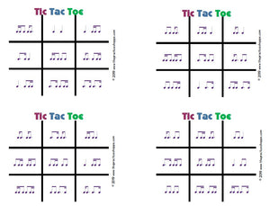 Tic Tac Toe - Purple