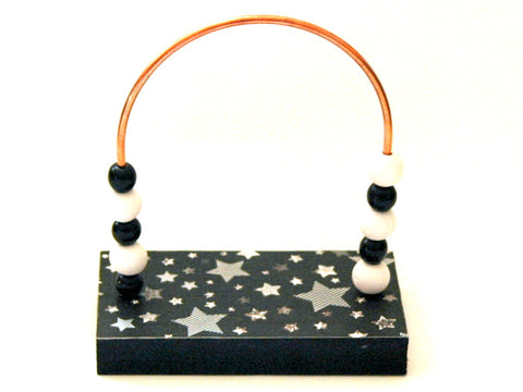 Stars Silver Bead Counter