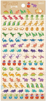 Nekoni Tiny Dinosaur Stickers