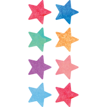 Load image into Gallery viewer, Watercolor Stars Mini Stickers