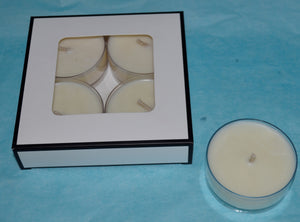 Maxi Soy Tealights with Premium Fragrance