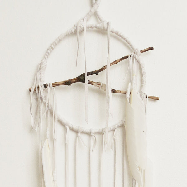 Electric Love Lemuria Snow Quartz Dreamcatcher