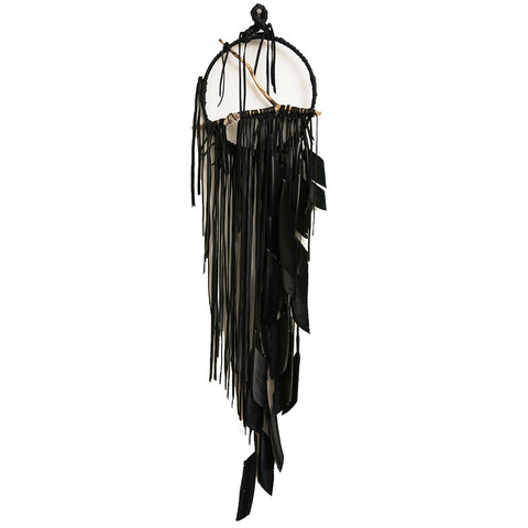 Electric Love Stone Smoke Black Dreamcatcher