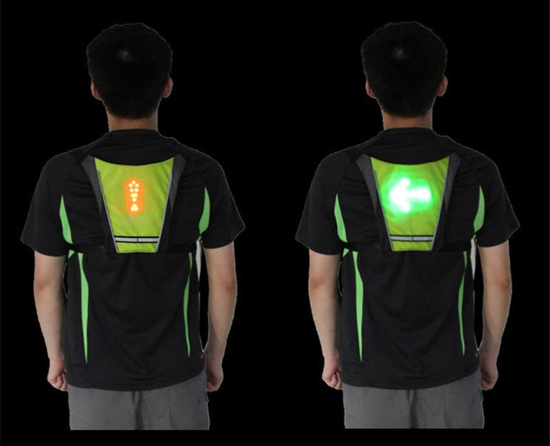Cycling LED Signal Vest