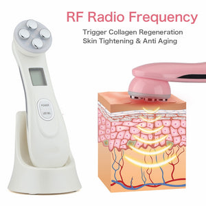Skin Tightening - Face Lifting 5 in 1 LED Device