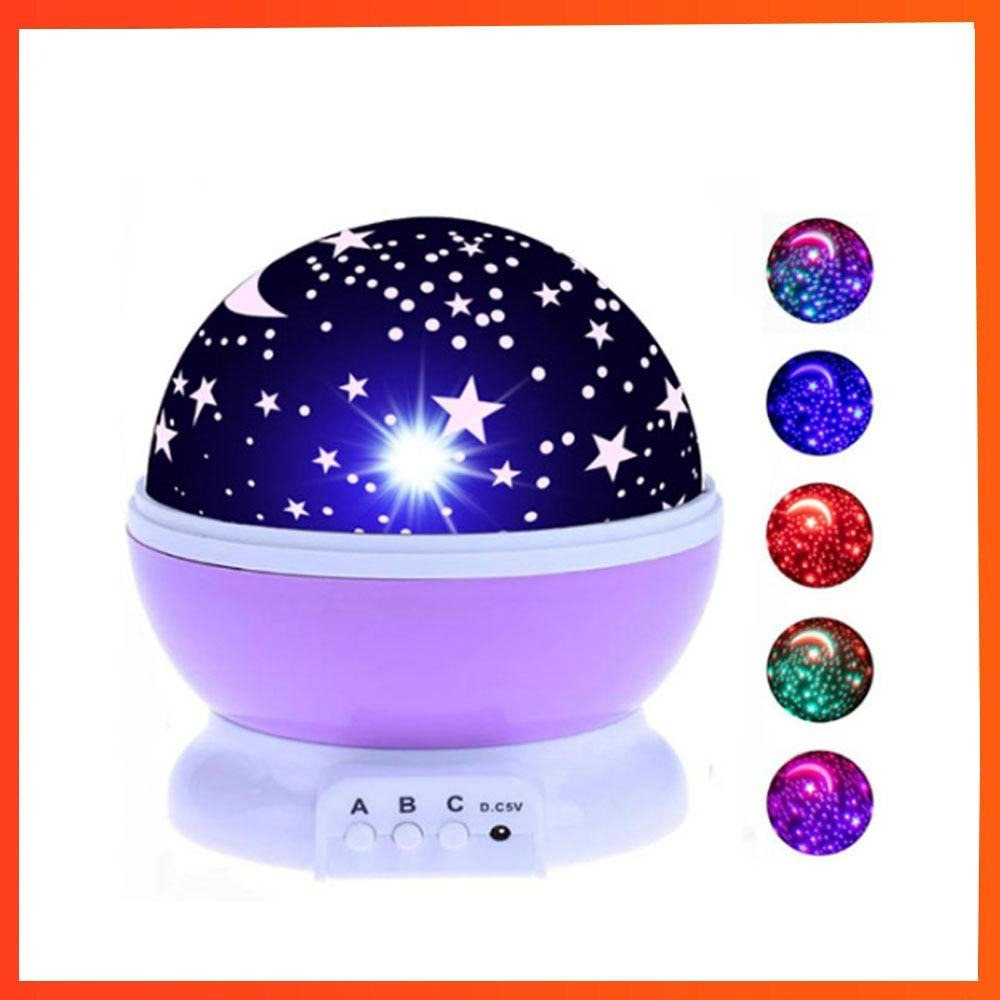 Kids Moon And Star Night Light Projector