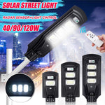 SolarMax - 3200 Lumens - 90W - 120LED Solar Street Light