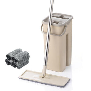 FlatMop™ Self Cleaning Flat Mop and Bucket