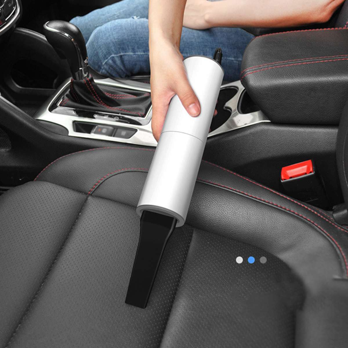Handheld Mini Portable Vacuum Cleaner For Car, Home And Tent Cleaning