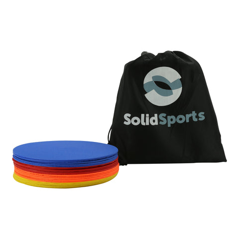 Multi-Color Flat Spot Sports Markers (8 Inch)