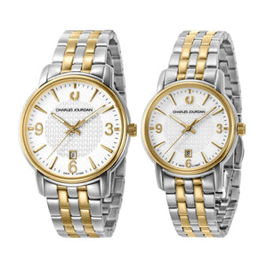 Ultra Couple Classic Watches CJ1068-1112 & CJ1068-2112