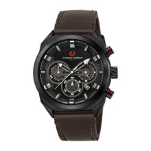 Load image into Gallery viewer, Ludis CJ1082-1732C Men Sports Quartz 45mm Leather