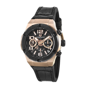 Ludis CJ1089-3535C Men Sports Quartz 38mm Leather