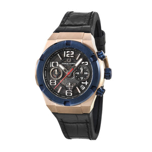 Ludis CJ1089-3785C Men Sports Quartz 38mm Leather