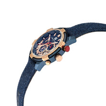 Load image into Gallery viewer, Ludis CJ1091-1882C Men Sports Chronograph 46mm Denim