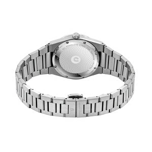 Patron CJ1096-1317D Men Classic Diamond Quartz 40mm Bracelet