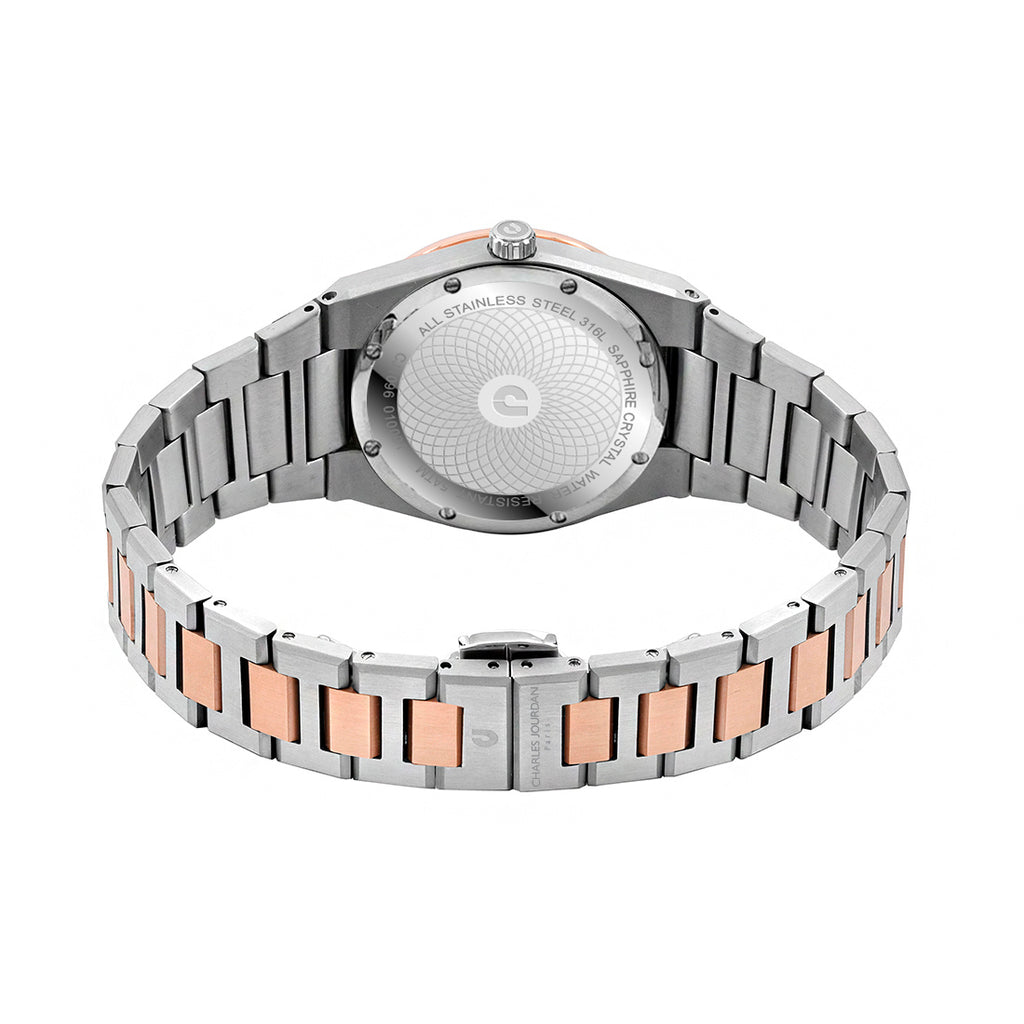 Patron Diamant CJ1096-1617D Men Classic 40mm Bracelet