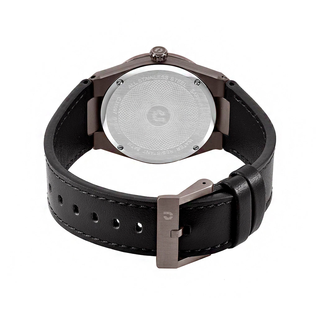 Patron CJ1097-1732 Men Classic Quartz 40mm Leather