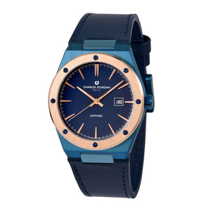 Patron CJ1097-1882 Men Classic Quartz 40mm Leather