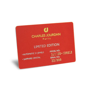 Charles Jourdan Limited Edition Card