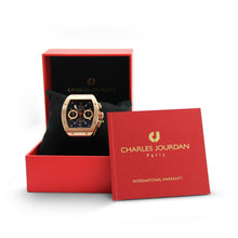 Load image into Gallery viewer, Charles Jourdan Signature Watch Box