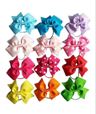 Bright  Bow Set of 12