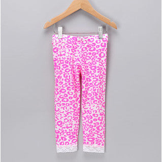 Leggings-Pink Cheetah