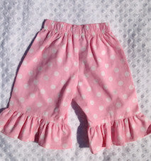 Pink Dot Girls Ruffle Pants