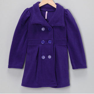 Pea Coat Purple