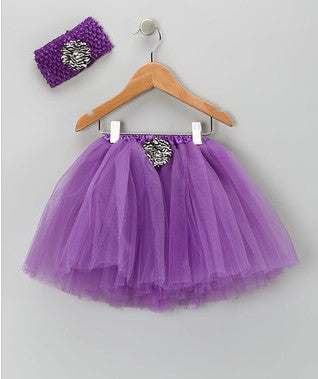 Purple Tutu & Headband