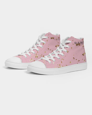 Im Gold  Women's Hightop Canvas Shoe