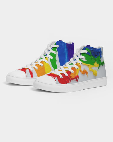 RAMSES PRIDE  Women's Hightop Canvas Shoe