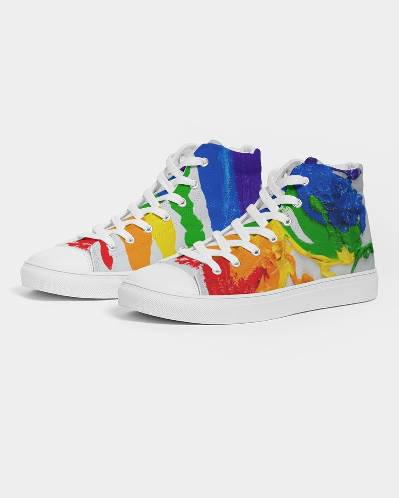 RAMSES PRIDE  Men's Hightop Canvas Shoe
