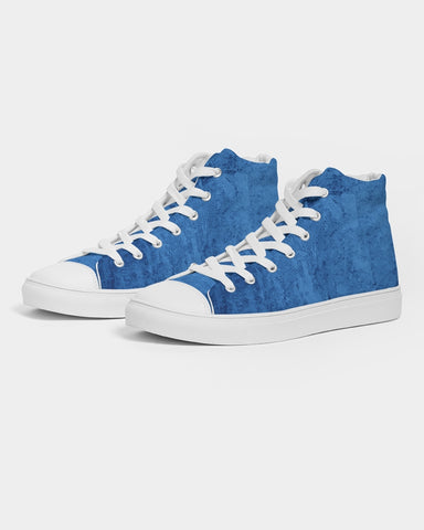 Blue Ocean  Men's Hightop Canvas Shoe