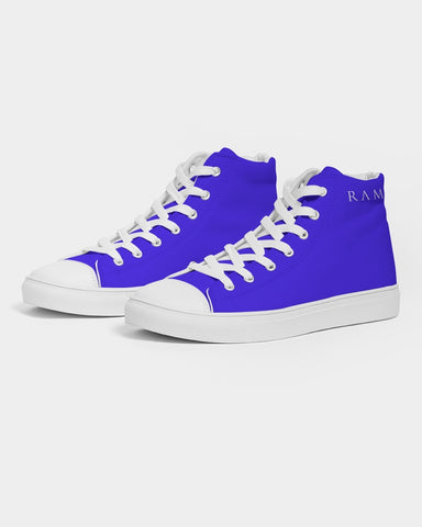Blues Shores  Men's Hightop Canvas Shoe