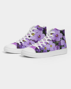 Purple Haze  Men's Hightop Canvas Shoe