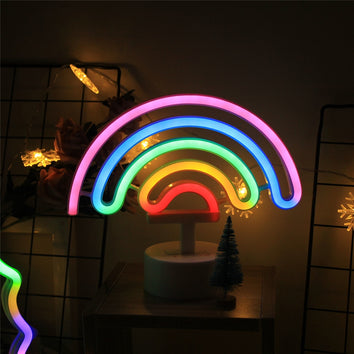 Arc en ciel  LED