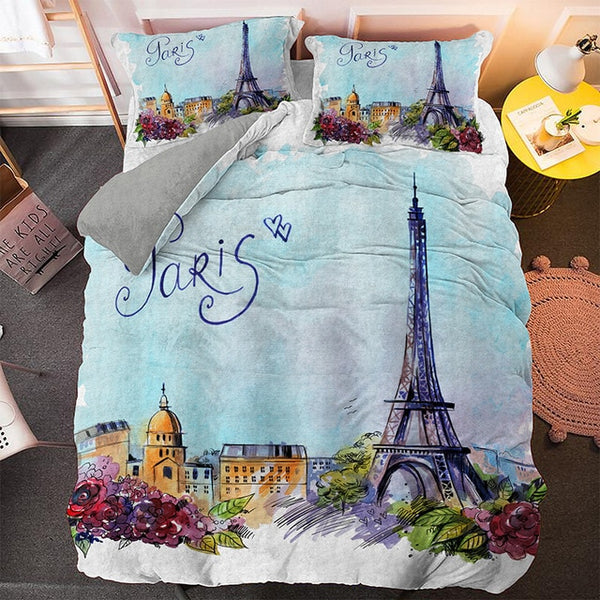Ensemble de lit I Love Paris