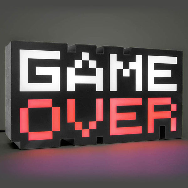 Lampe LED GAME OVER